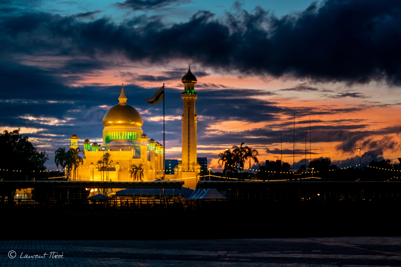 Les mosquées de Brunei