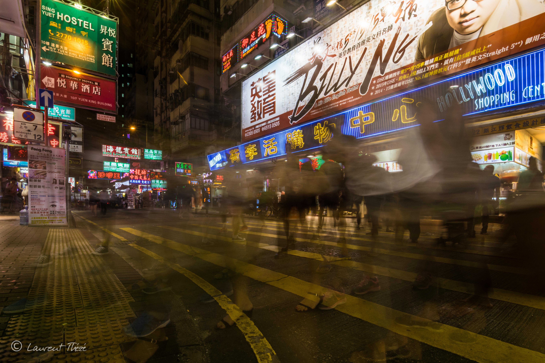 Hong Kong et ses habitants.