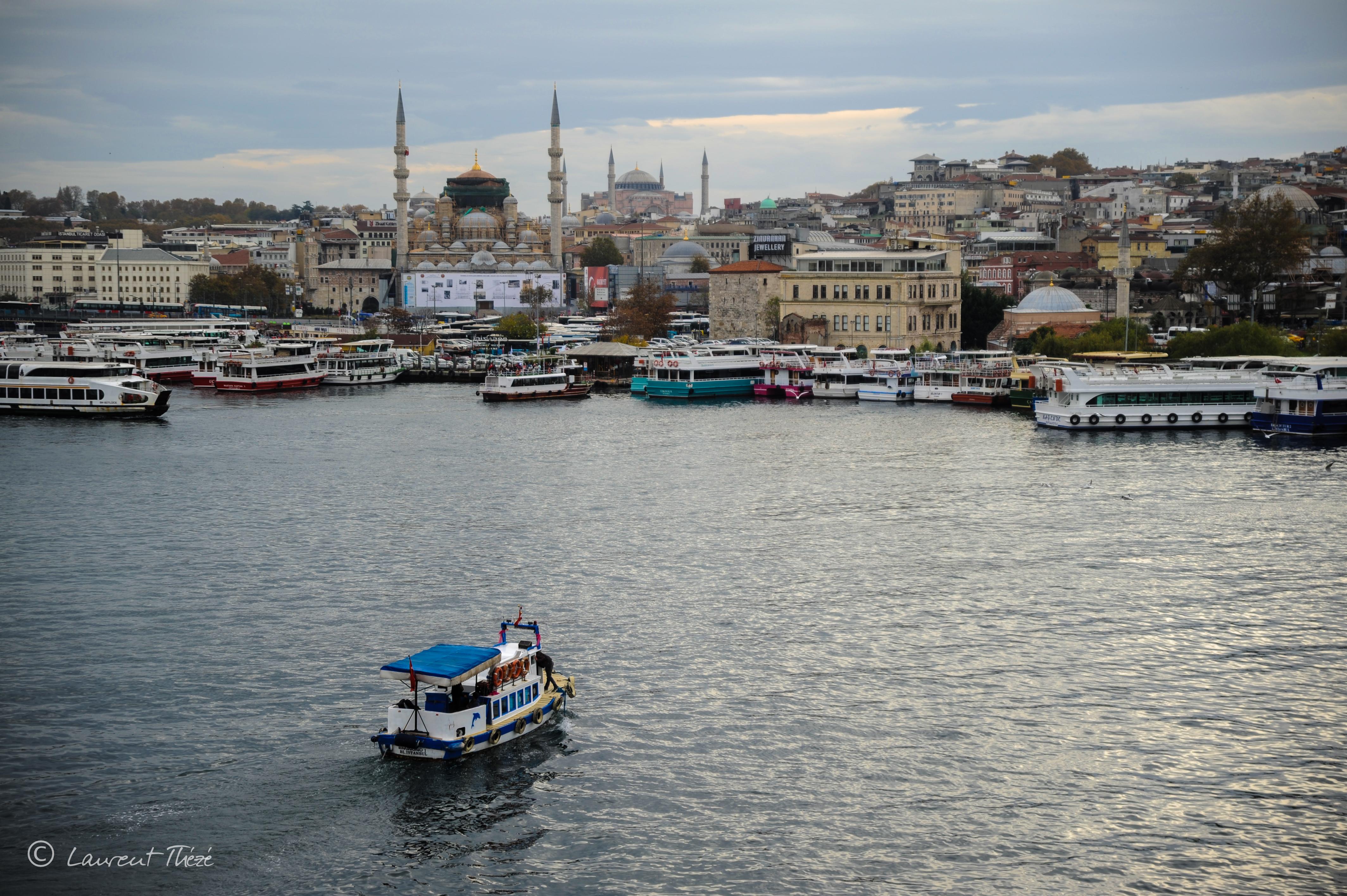 Le Bosphore à Istanbul, en Turquie