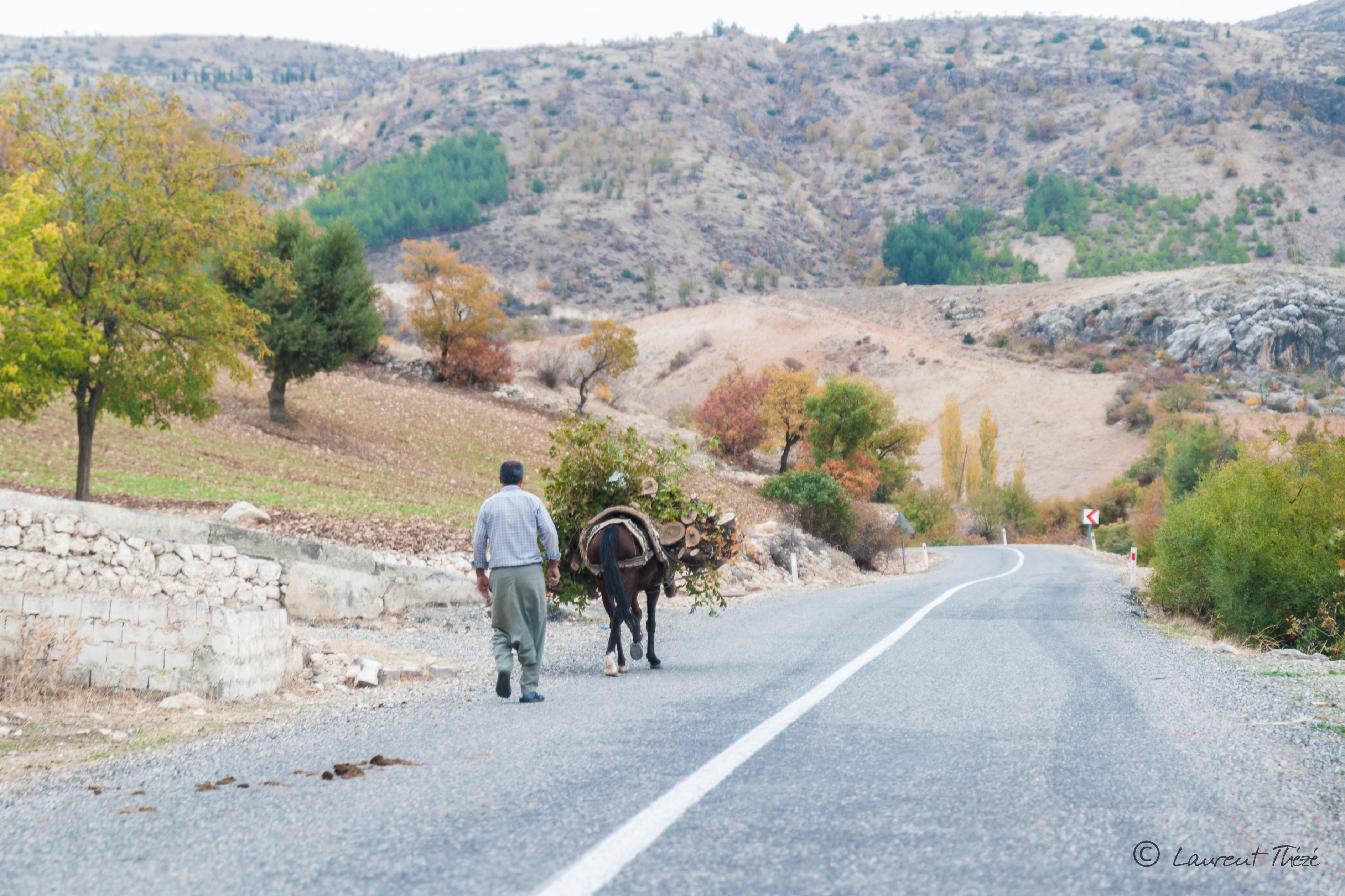 Traverser la frontière turque vers l'Iran