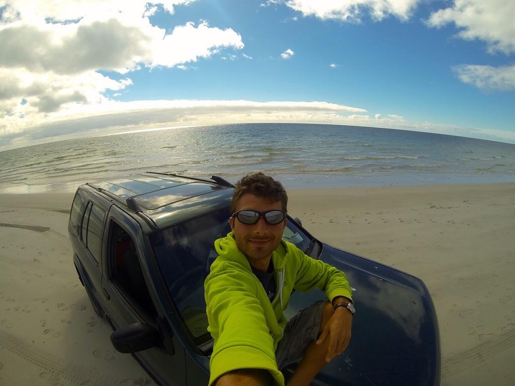 Conduite du 4x4 sur les plages australiennes.
