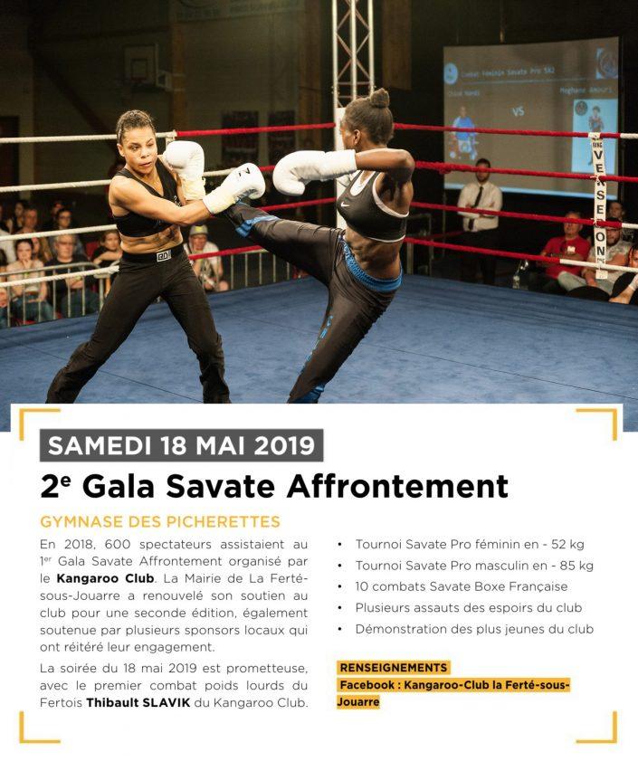 2e gala Savate Affrontement