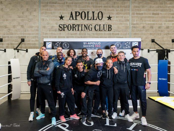 S1-Apollo Savate Pro - La pesée